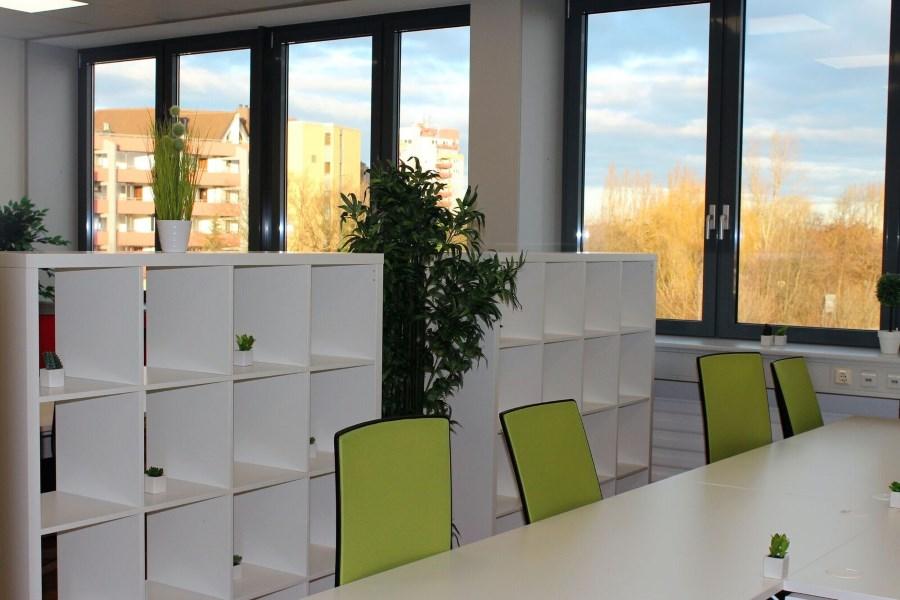Coworking Bereich Büromöbel